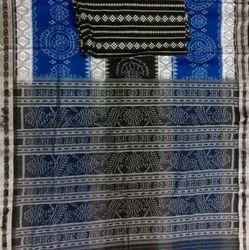 Sambalpuri Ikkat Handwoven Cotton Saree