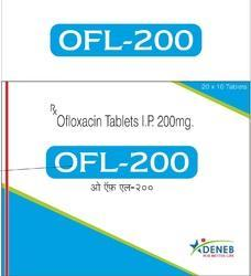 Ofloxacin (OFL- 200 Tablet)