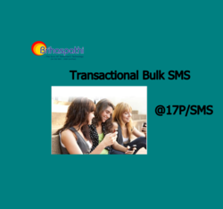 Transactional Bulk SMS(10000 SMS Package)