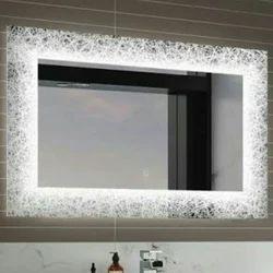 Wall Mounted Rectangular LED Mirror