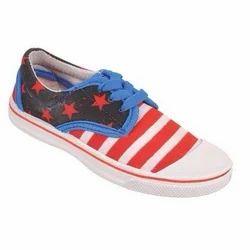 Kids Unisex Lace Canvas Shoes