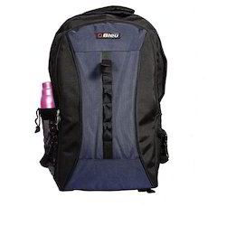 Black & Blue Backpack Rucksack Jumbo Bag