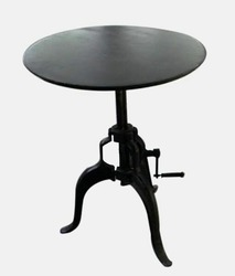 Round Crenk Table, Weight: 12 kg