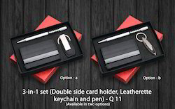 3 In 1 Double Side Card Holder -(Q 11)