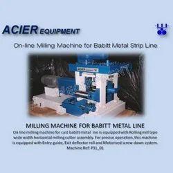 Acier Equipment Milling Machine For Babbitt Metal