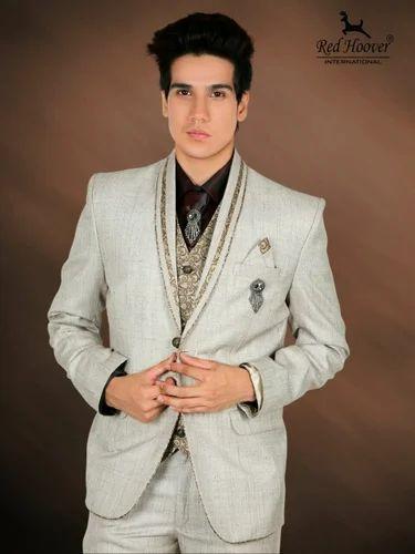 Men S Dulha Suit At Rs 3500 Piece Wedding Suit Id 12359336688
