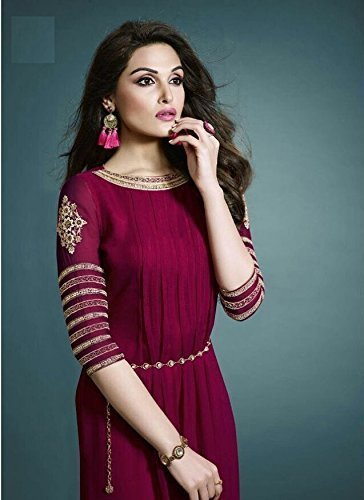 5bb2b39a0f3 Red Hot Gorgeous Georgette Festival Party Wear Dresses at Rs 799 ...