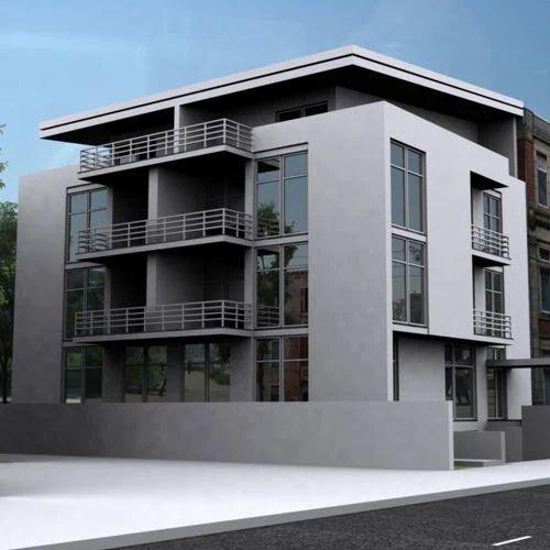 Residential Building Designing, रेजिडेंशियल ...