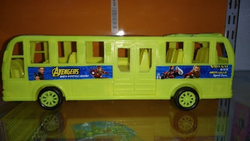 Plastic Toy Bus, For School/Play School And For Infant Kids