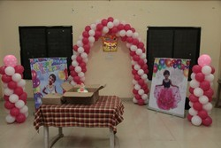 Birthday Party Balloon Decoration Service, in Local