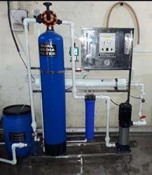 250 LPH FRP RO Plant