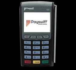 Payswiff WiFi Credit or Debit Card Swipe Machine,Link any Bank savings or current account