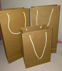Goldan Craft Paper Gift Paper Bag, Capacity: 1.5