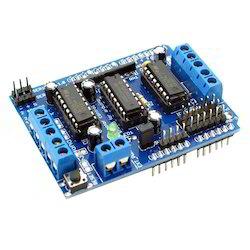 dc motor arduino l293d