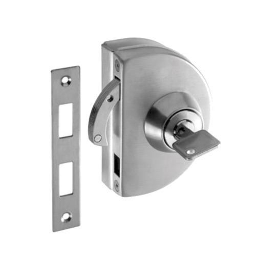 Gentil Glass To Wall Patch Lock Without Cut Out