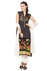 Printed Designer Casual Party wear Long Suit Long Kurta
