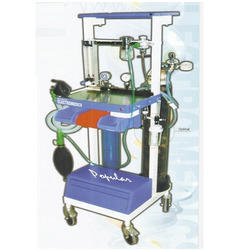 Continuous Flow Anaesthetic Machine