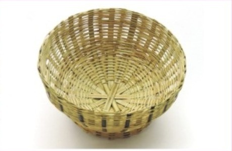Dining Table Handicraft Bamboo Fruit Basket
