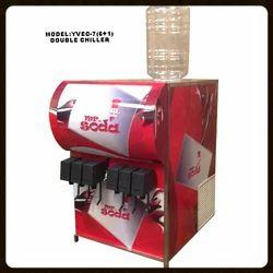 YVEC-7 Double Chiller Soda Fountain Machine