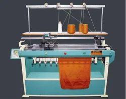 Computerized Flat Collar Knitting Machine, 6G-14G