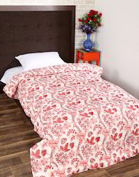 Handmade Printed Cotton Winter Jaipuri Razai Quilt