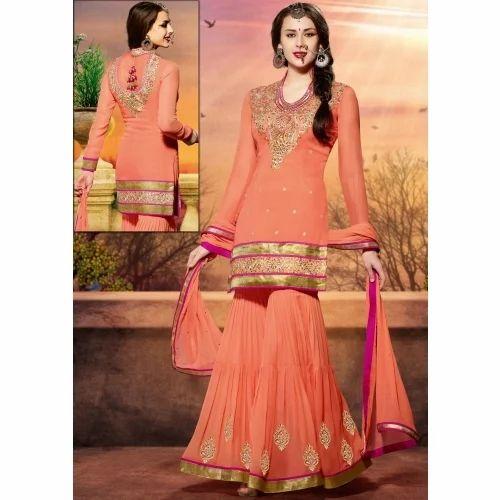 Party Wear Sharara Suit Ladies Party Wear Suit Ramesh Nagar New