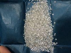 White Round Cut Loose Diamonds