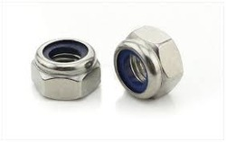Stainless Steel Hexagonal Nylon Lock Nut