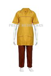 Half Sleeves Nursing Uniform