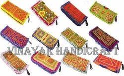 Vintage Banjara Cash And Card  Holder