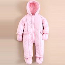 Polywadding Baby Hoodie Sleep Suit