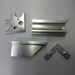 Aluminum Shutter Profile with Handle