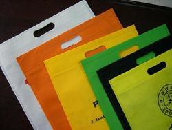 Flymax Printed D-Cut Non Woven Bags, For Shopping, Capacity: 2-5 Kg