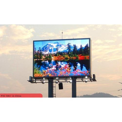 Outdoor Advertising LED Display Screen, for Outdoor Type, Shape: Rectangle