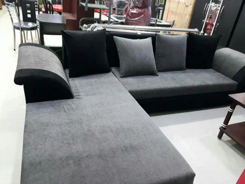 7 Seater L Shape Sofa Set