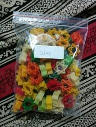 B.G.F Star Shaped Fryums, Packaging Size: 30kg