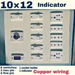 Wooden Electric Board 10 12 Electric Switch Board इल क ट र कल स व च ब र ड व द य त स व च ब र ड In Jabalpur Mk Traders Id 20181552855