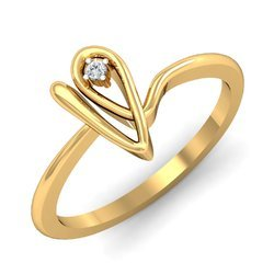 14k Hallmark Gold Diamonds Ring