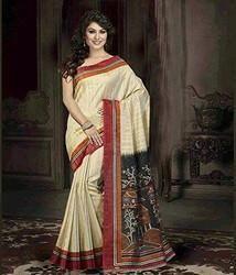 Printed Bhagalpuri Saree
