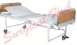 Hospital Fowler Bed (SS Bows - Deluxe)