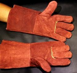 Solitaire Heavy Leather Welding Gloves