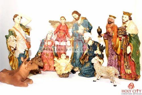 Christmqas Decoration Poly Resin Nativity Set Polyresin ...