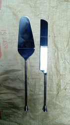 Rod Cutlery Cake Server And Knife