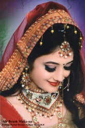 Bridal Makeup Dress Jewellery