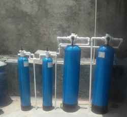 Filter & Softener with D M