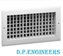 Double Louvered AC Grills