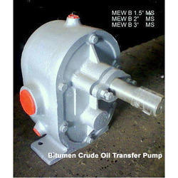 Bitumen Crude Oil Transfer Pump