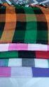 Viscose Check Multi Colored Stole
