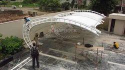 Cantilever Car Park Structure