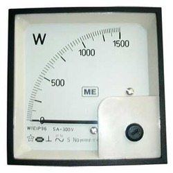 Analog Watt Meter Calibration Services
